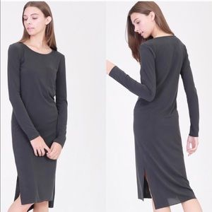 Side slit long dress. Super soft. Amazing dress!